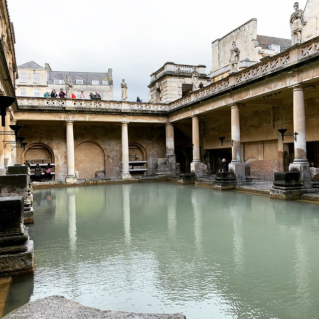 2019 London - Day 7 - Roman Baths