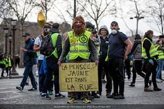 Paris, manifestation du 09 mars 2019 des gilets jaunes, Acte XVII