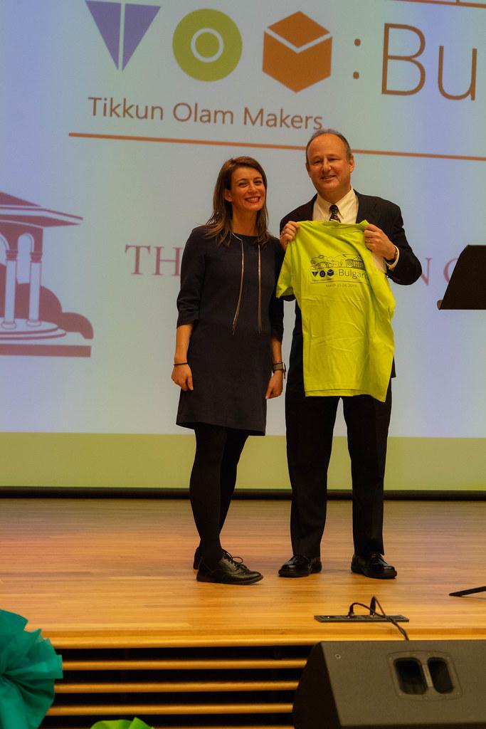 Ambassador Rubin Attends STEM Makeathon at American College of Sofia