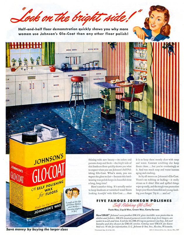 Johnson's Glo-Coat 1947