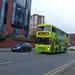 The Green Bus on Calthorpe Road, Edgbaston
