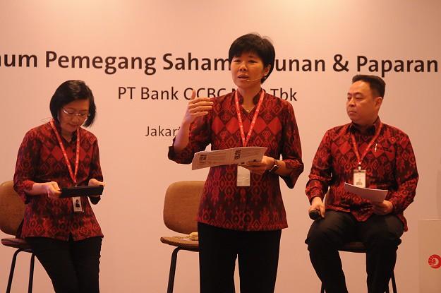 RUPST Bank OCBC NISP Tetapkan Penggunaan Laba Bersih untuk Penguatan Bisnis