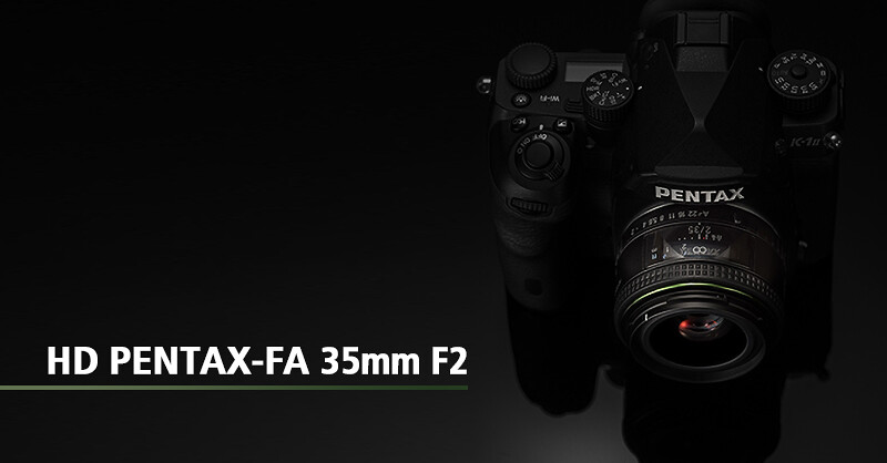 HD PENTAX-FA 35mm F2 announced!