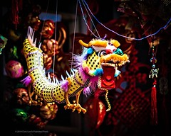 20 Dollar Dragon . Shot during last Sunday's New Years Parade in Chinatown, NYC . . . #20dollardragon #paperdragon #dragon #storedisplay #yearofthepig #chinatownnyc #lunarnewyear #newyearparade #neyorkcity #Chinatown #chrislordnyc #chrislord #pixielatedpi