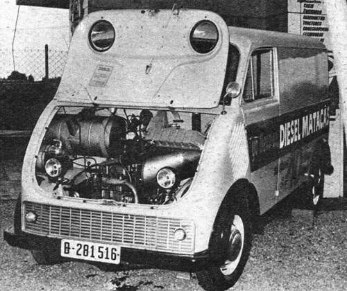Fugoneta DKW Dièsel Matacas