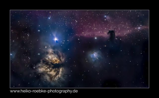 Pferdekopfnebel / horsehead nebula