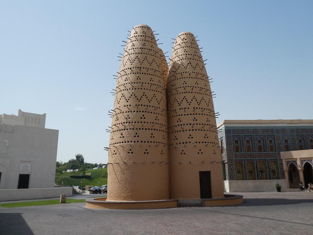Pigeon Towers, Katara Cultural Village, Doha