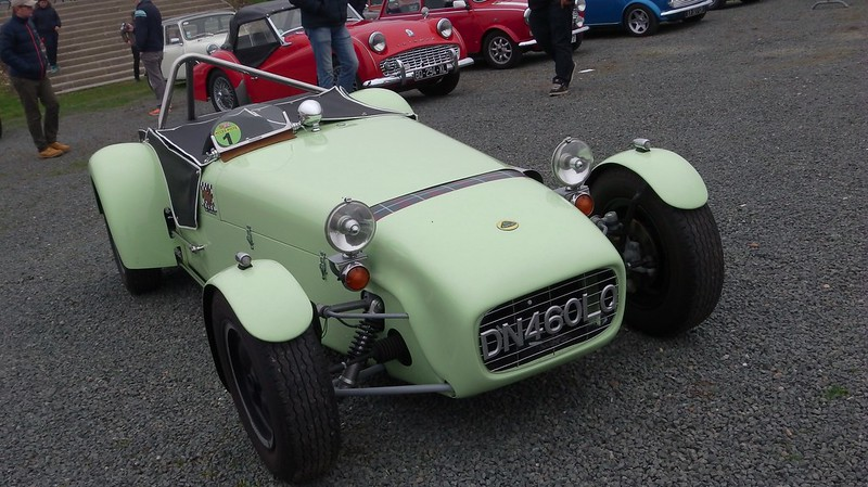 "Lotus Seven ""mentol"" - God save the cars 2019 47398273572_f88b1fa6c8_c"