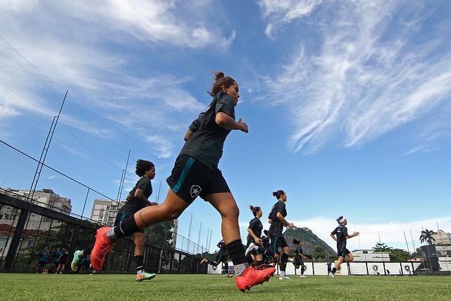 Futebol Feminino - Treino 26/03/2019