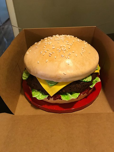 Burger Cake by Simple Delights