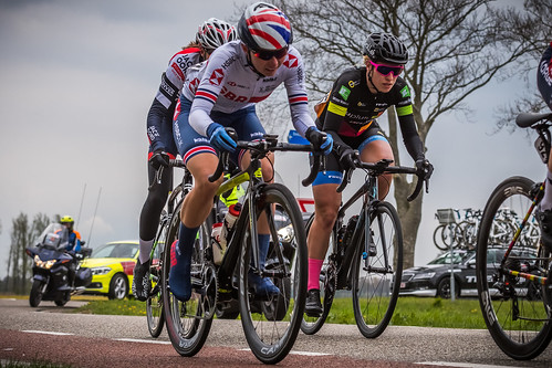 Back of the peloton