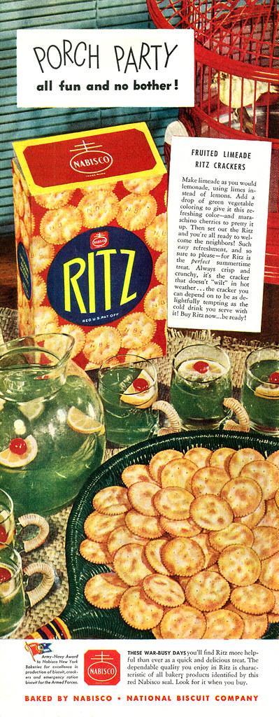 Nabisco Ritz 1944