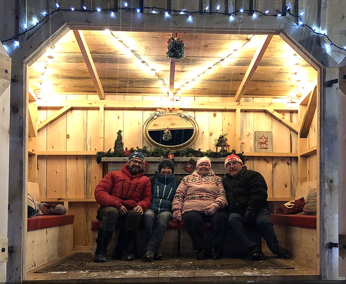 Upper Canada Village with Les and Sheila and Pierre and Linda