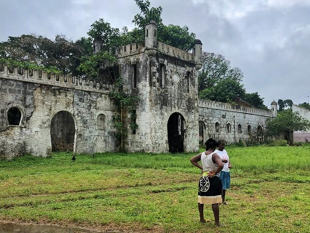 Mujeres en Roça Sundy (Isla de Príncipe)