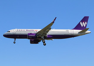 F-WWDZ Airbus A320 Néo West Air