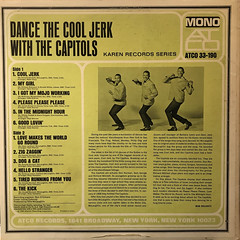 THE CAPITOLS:DANCE THE COOL JERK WITH THE CAPITOLS(JACKET B)
