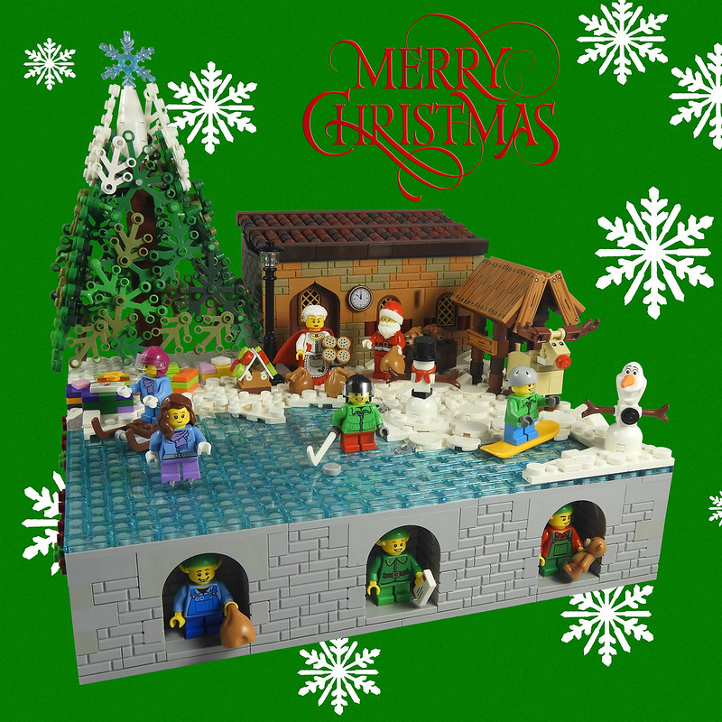 MOC natalizie - Christmas Build 2018