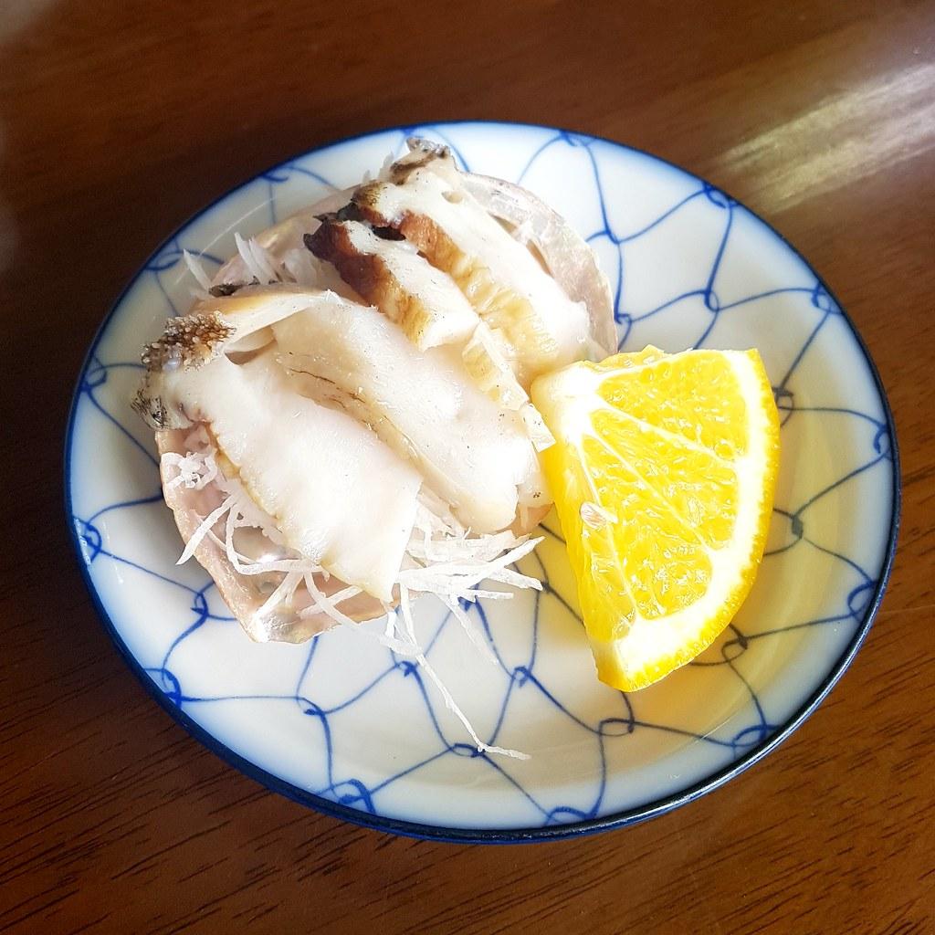 Muscheln wie Abalone kann man auch als Sashimi essen