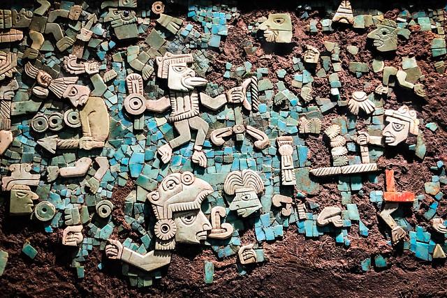 Ancient Ceramic Tile Art