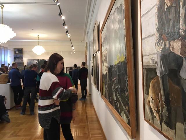 2018 Выставка к 85-летию Томского регионального отделения ВТОО «Союз художников России»
