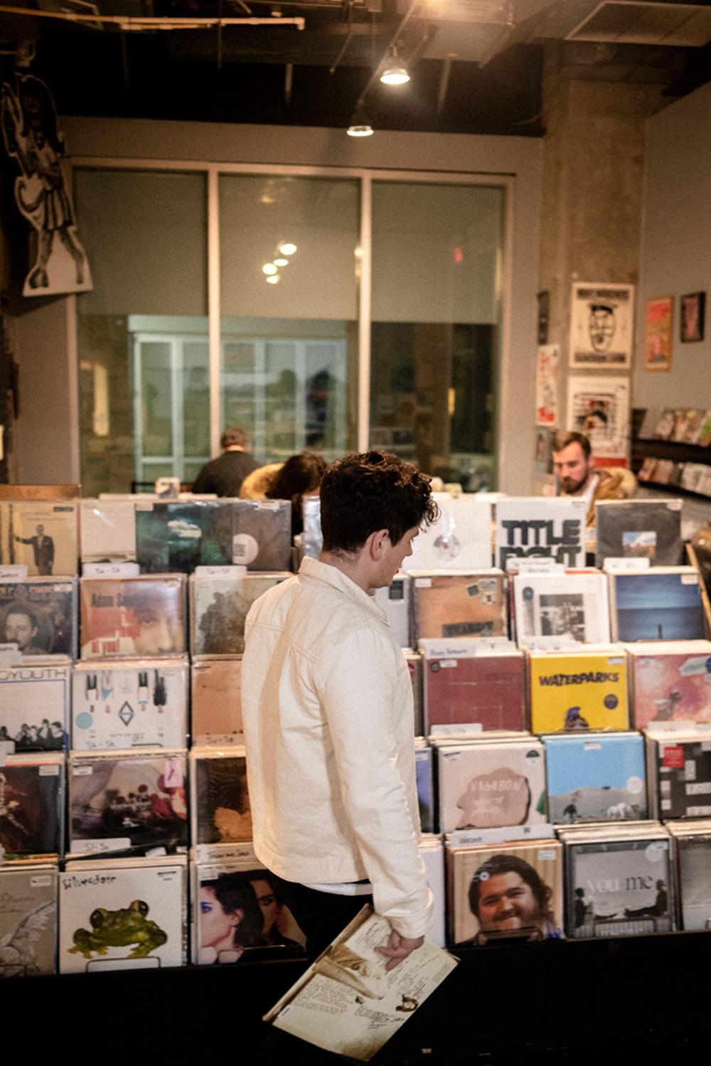 Record Shopping with Amber Run at Creep Records