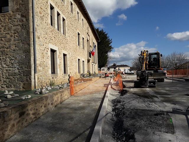 Travaux réhabilitation place du Château