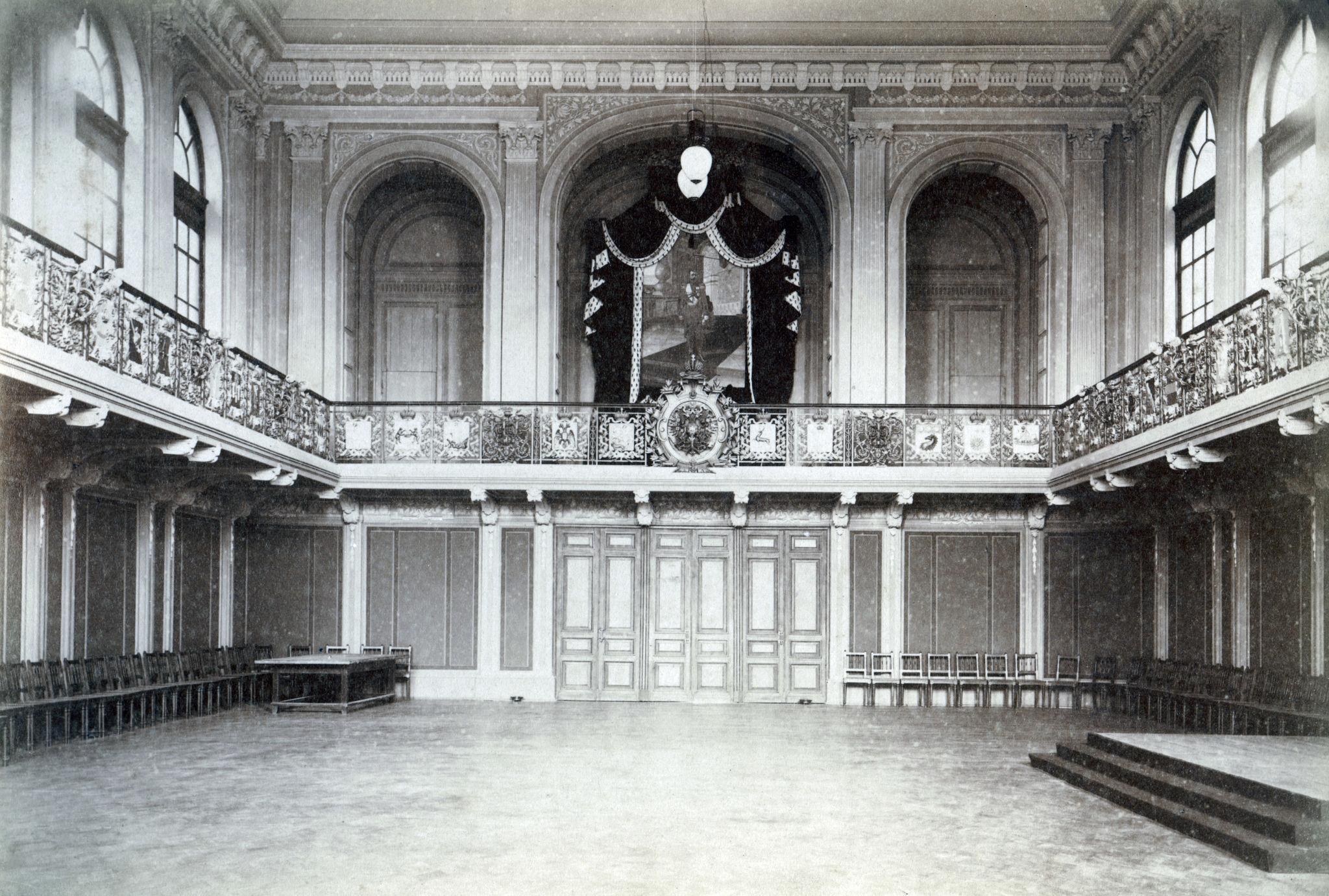 Гербовый зал главного ярмарочного дома