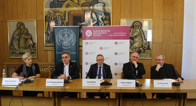 Konferencja Prasowa nt. rozwoju wydziału medycznego UKSW - 11 lutego 2019 r.