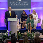 U.S. Secretary of State Michael R. Pompeo and First Lady of the United States Melania Trump host the 2019 International Women of  Courage Awards ceremony on March 7, 2019.