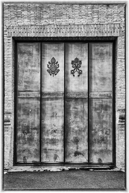 Benedict's Door North Wall Vatican