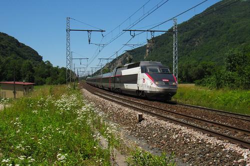 TGV PSE 64 n°6941 Paris Gare de Lyon - Annecy