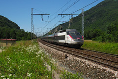 TGV PSE 64 n°6941 Paris Gare de Lyon - Annecy - Photo of Saint-Rambert-en-Bugey