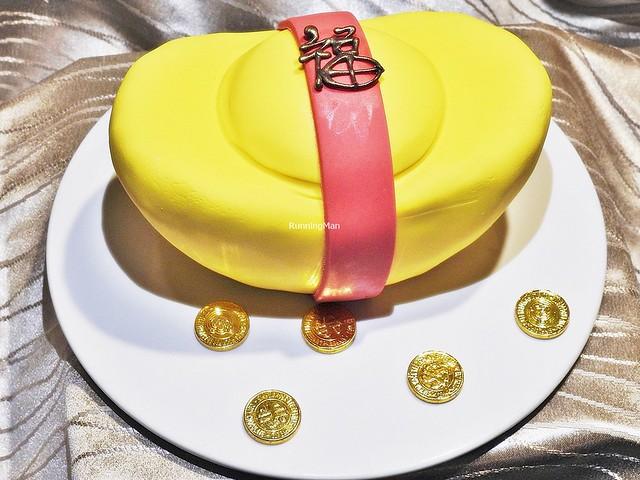 Gold Ingot Fruit Cake