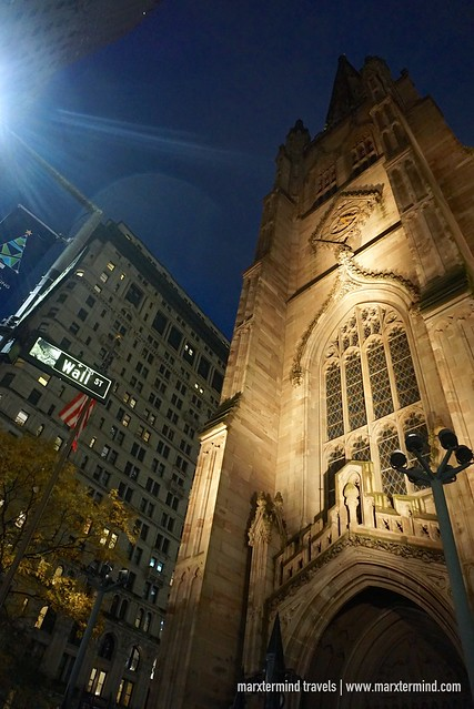 Trinity Church in Wall Street