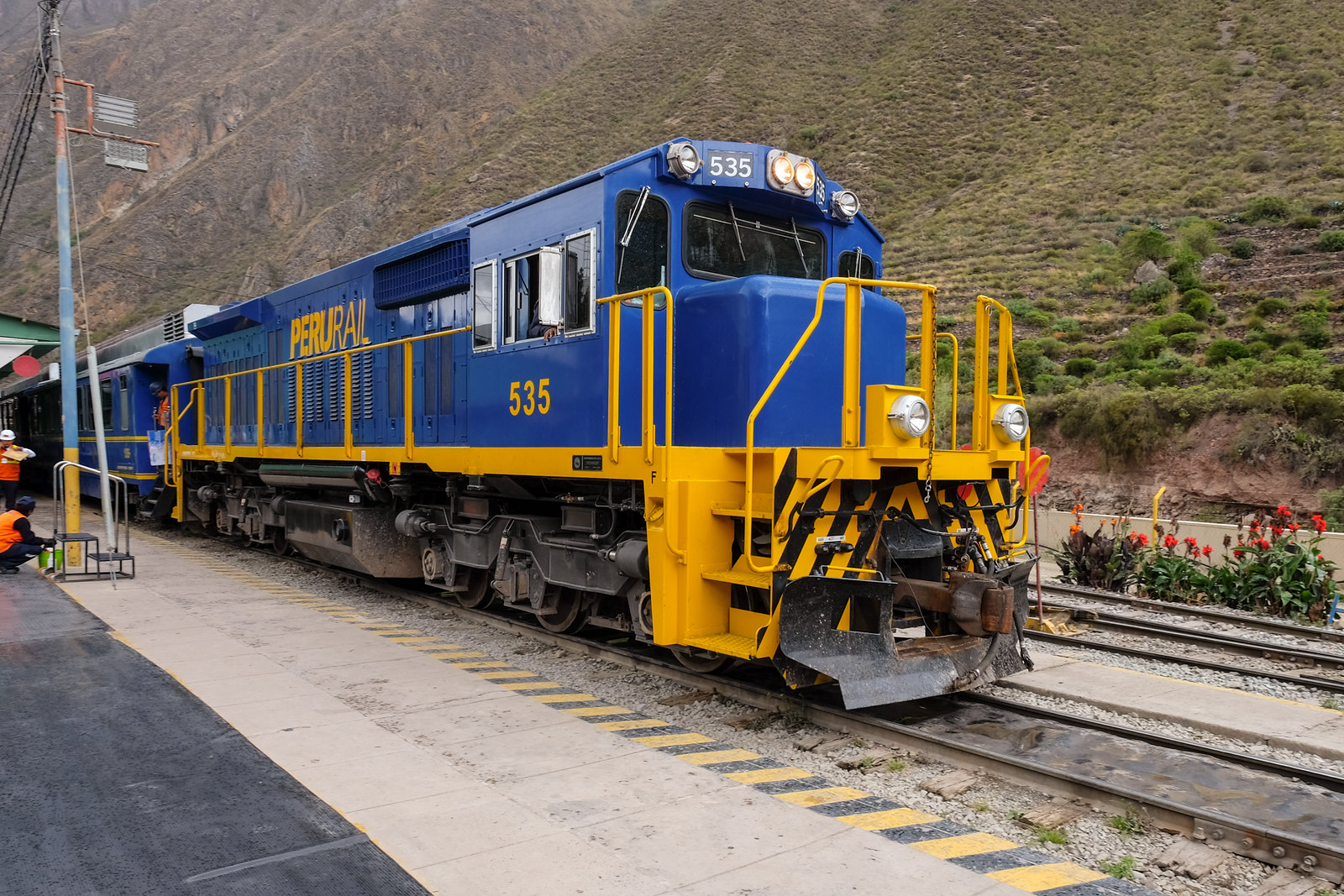 Peru Rail engine