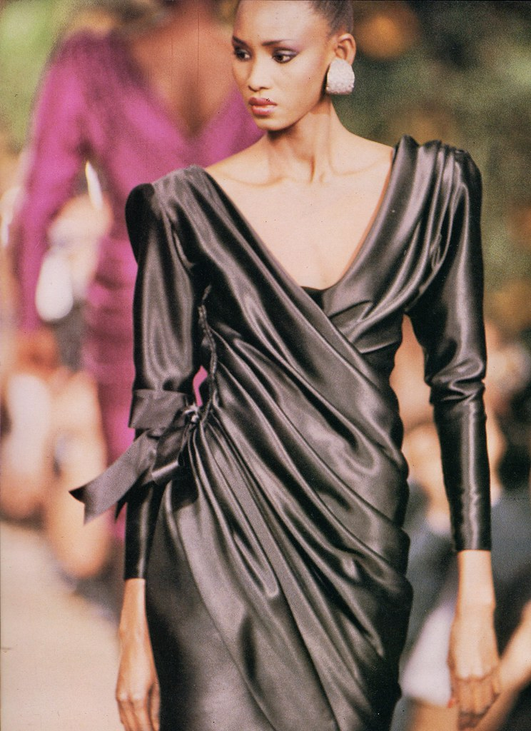 f32d7f1a941 Yves St. Laurent Haute Couture A/W 1987-88 | barbiescanner | Flickr