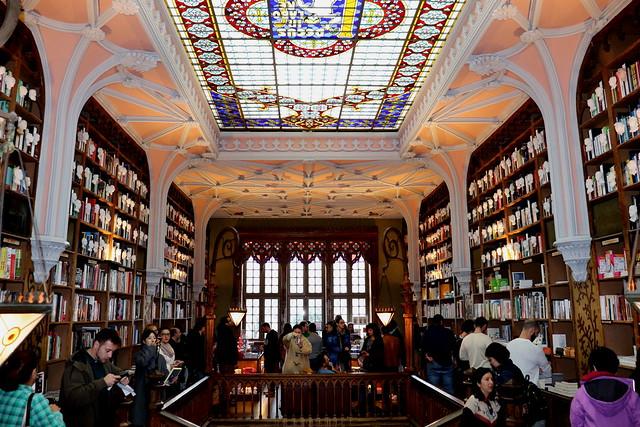 Visitar la Librería Lello de Oporto