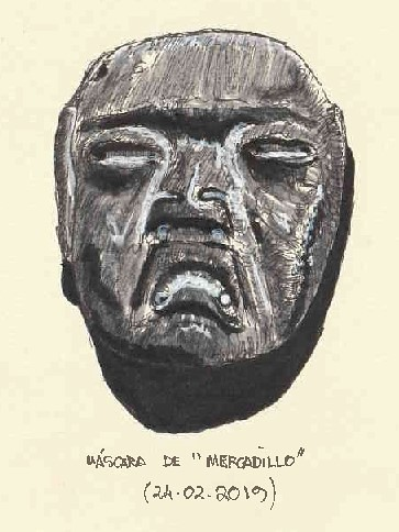 "Máscara de ""mercadillo"""