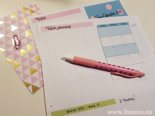 iHanna's A6 Planner - plan your days
