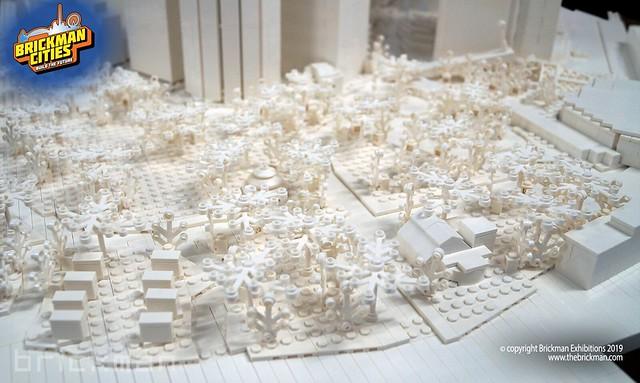 Lower Manhattan in LEGO® Bricks