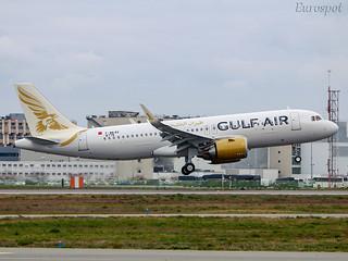 F-WWBX Airbus A320 Neo Gulf Air