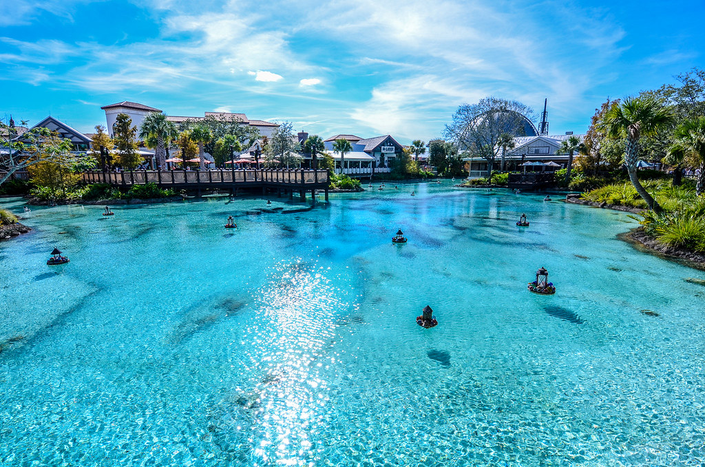 Disney Springs water
