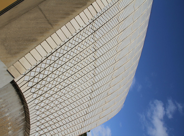 Sydney Opera House shell, Canon EOS 7D, Canon EF-S 15-85mm f/3.5-5.6 IS USM