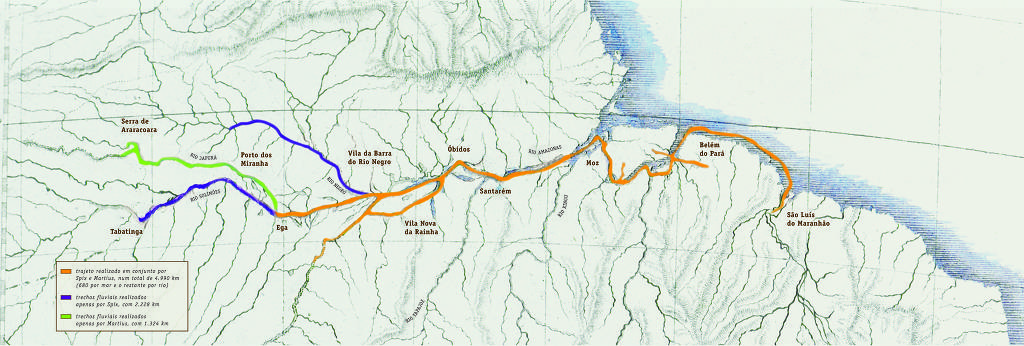 Folha publica reportagem sobre os 200 anos da saga de Carl Martius na Amazônia, Von Martius na Amazônia
