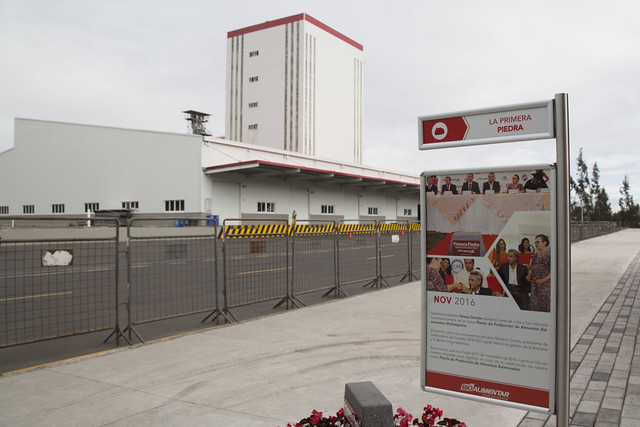 CFN financia moderna planta industrial en Tungurahua