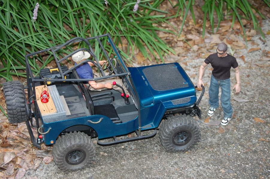 Building an RC sixth scale Jeep 46679389451_8c6bde0937_o
