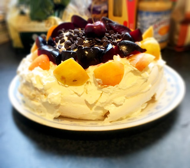 DB achieved her dream - making a pavlova from scratch.