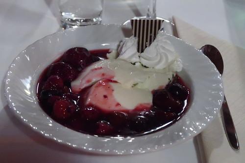 Panna Cotta mit Fruchtsoße