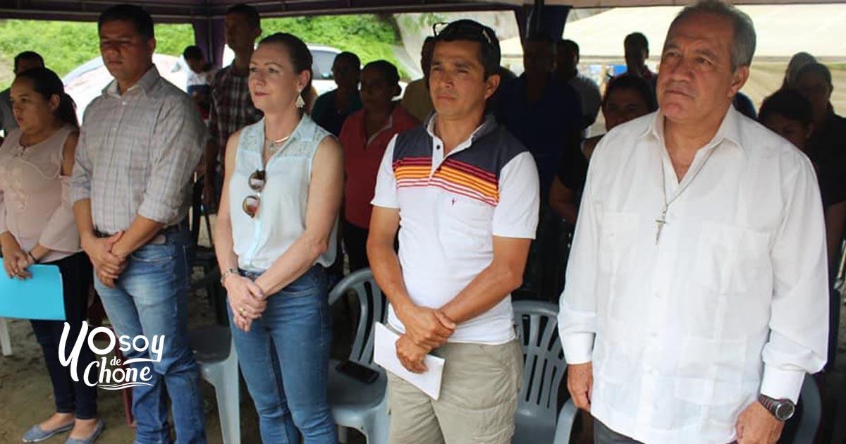 Inauguración de marquesinas para secado de cacao en Centro de Acopio parroquia Eloy Alfaro