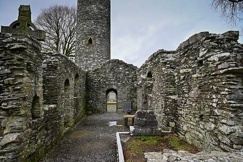 Mainistir Bhuithe Monasterboice - Monastery of Buithe - County Louth Ireland